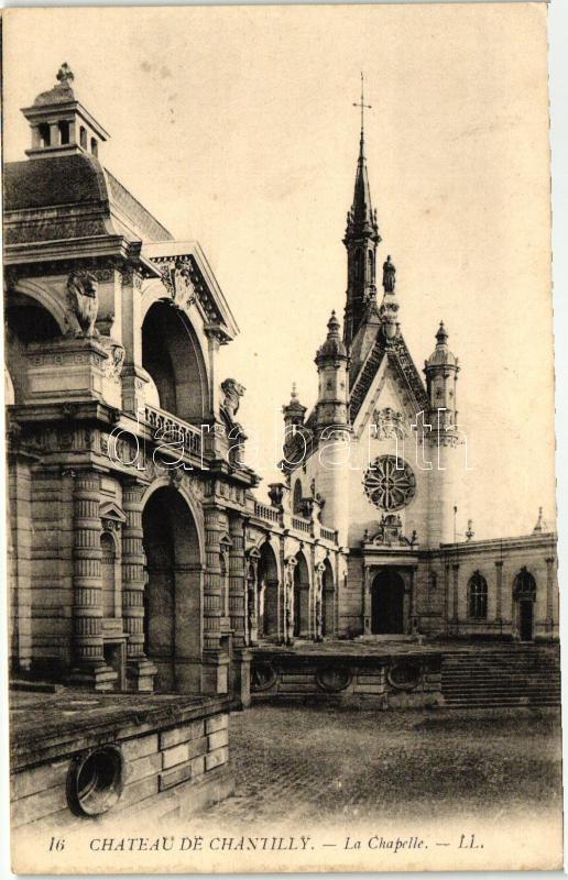 Chantilly, castle, chapel