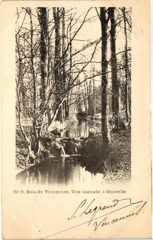 Vincennes, Gravelle waterfall