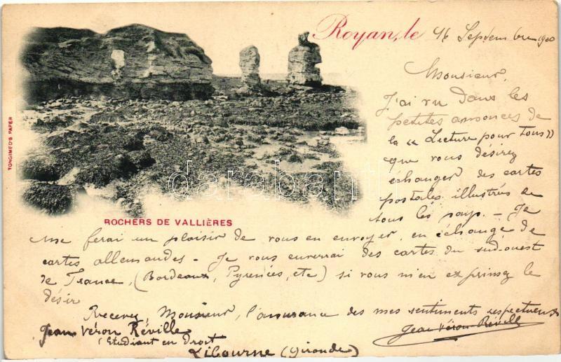 Royan, Rochers de Vallieres / rocks