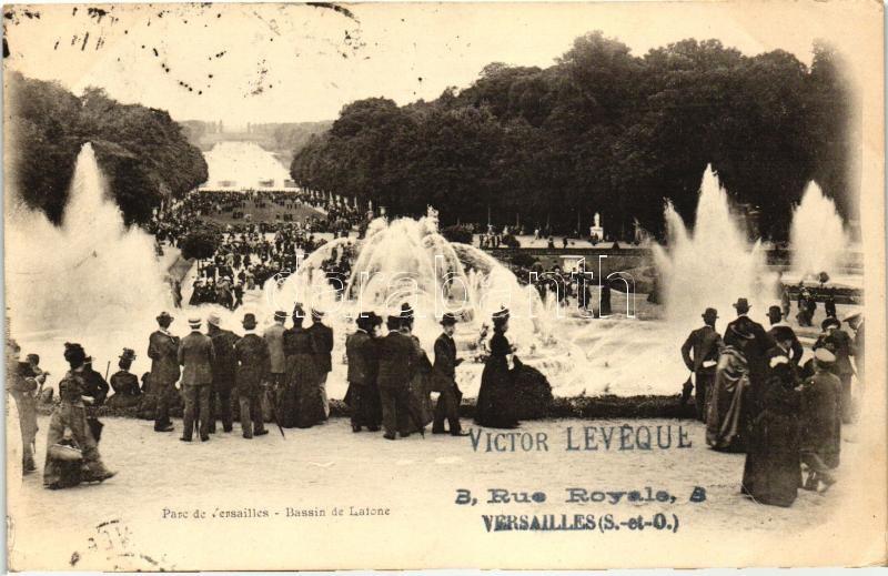 Versailles, Latone fountain