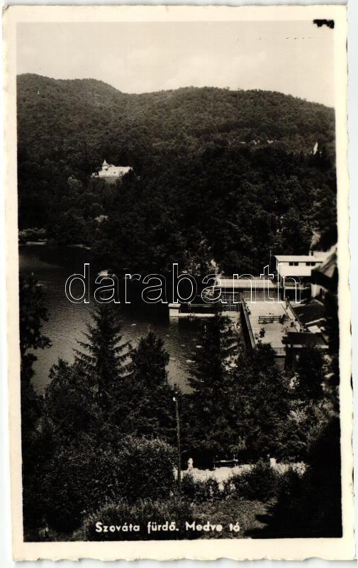 Sovata, Lacul Ursu / lake, Szováta-fürdő, Medve tó