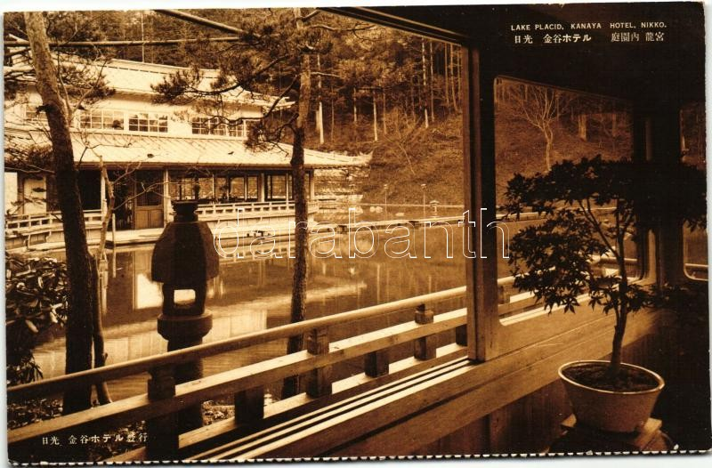 Nikko, Kanaya Hotel, Lake Placid, interior