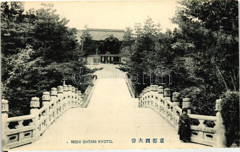 Kyoto, Nishi Ohtani, Buddhist Temple, Kiotó, Nishi Otani, buddhista templom