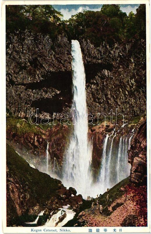 Nikko, Kegan waterfall, Nikko, Kegan vízesés