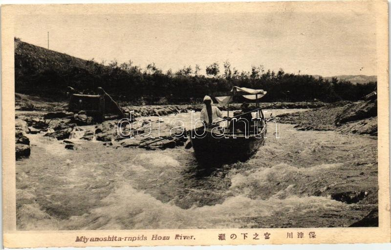 Hozu river, Miyanoshita-rapids, Hozu folyó, Miyanoshita zugó