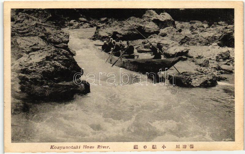 Hozu river, Koayunotaki, Hozu folyó, Koayunotaki