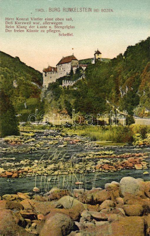 Runkelstein castle, Runkelstein vár
