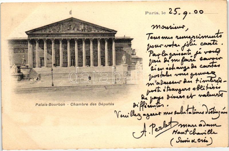 Paris, Palais Bourbon, Chambre des Deputes / palace, House of Representatives