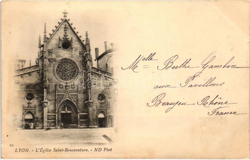 Lyon, Eglise Saint Bonaventue / church