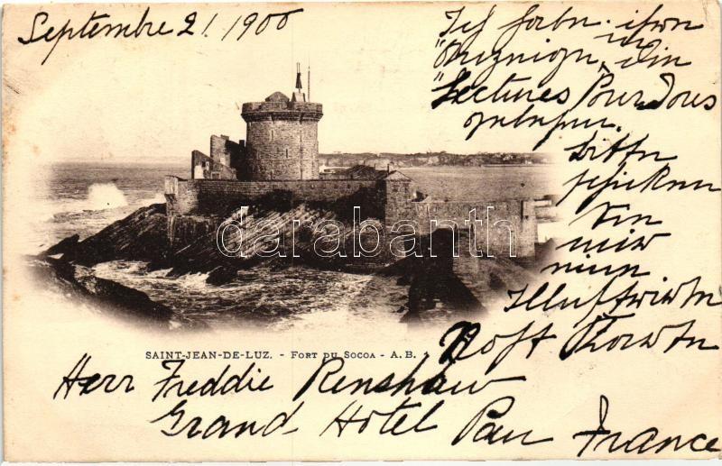 Saint-Jean-de-Luz, Fort du Socoa / fortress