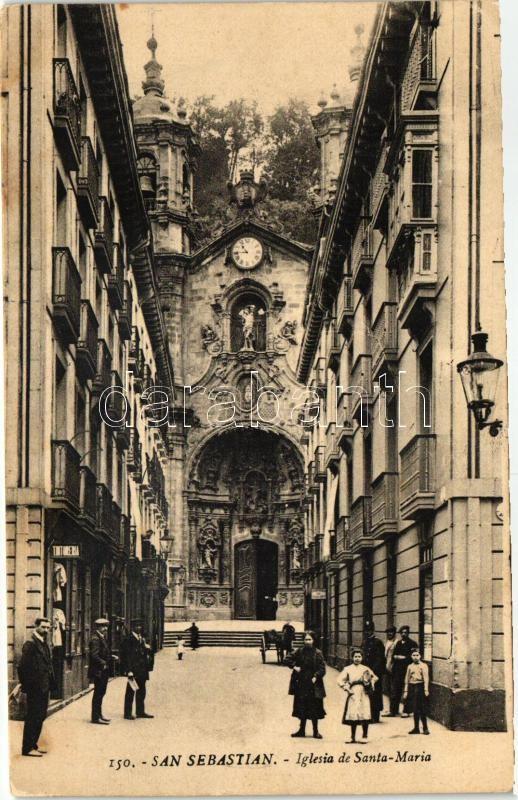 San Sebastian, Iglesia de Santa Maria / church