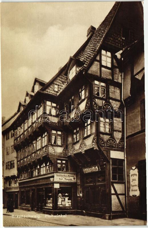 Braunschweig, Flohwinkel, shop of Carl Tönepöhl