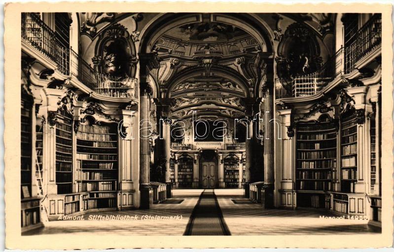 Admont, Stiftsbibliothek / library, interior