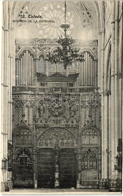 Toledo, Interior de la catedral / cathedral interior
