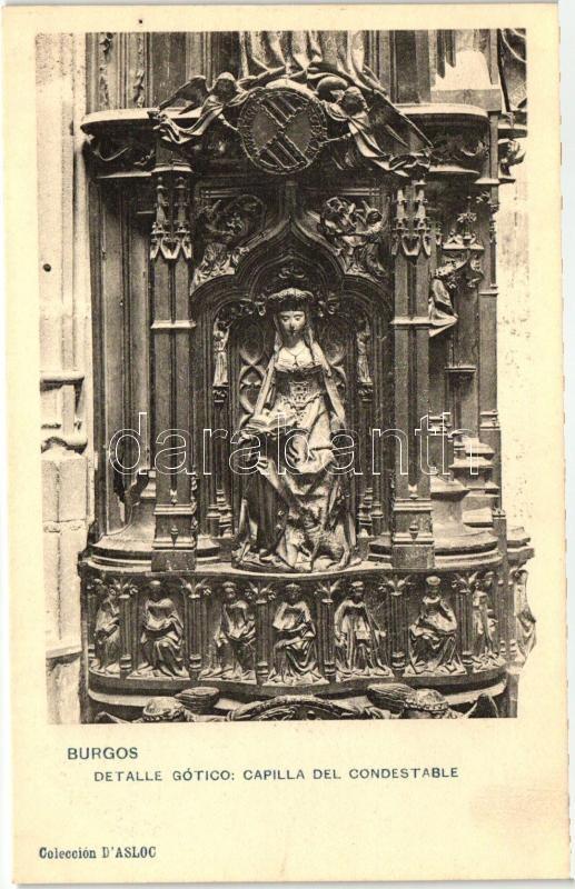 Burgos, Detalle Gótico, Capilla del Condestable / cathedral interior