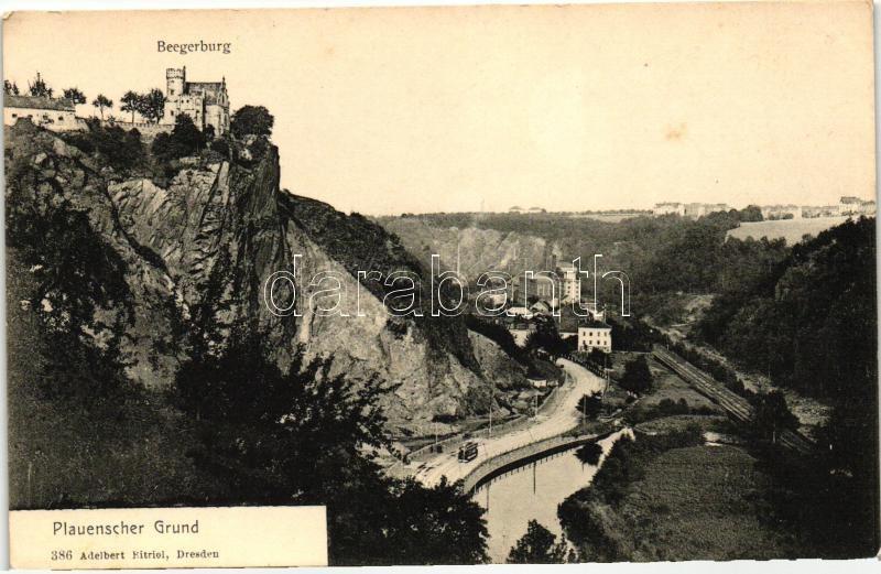 Plauenscher Grund, Beegerburg / castle