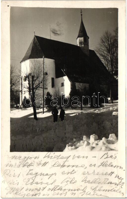 Mönichkirchen, church, winter