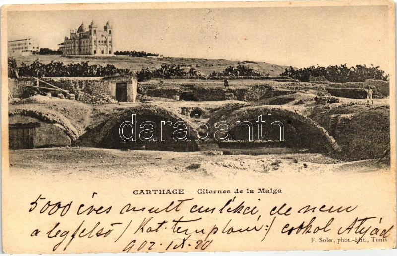 Carthage, Citernes de la Malga