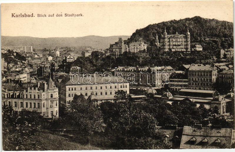Karlovy Vary, Karlsbad;