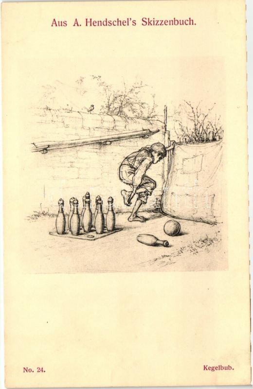 Aus A. Hendschel's Skizzenbuch No. 24. 'Kegelbulb' pinx. A. Hendschel