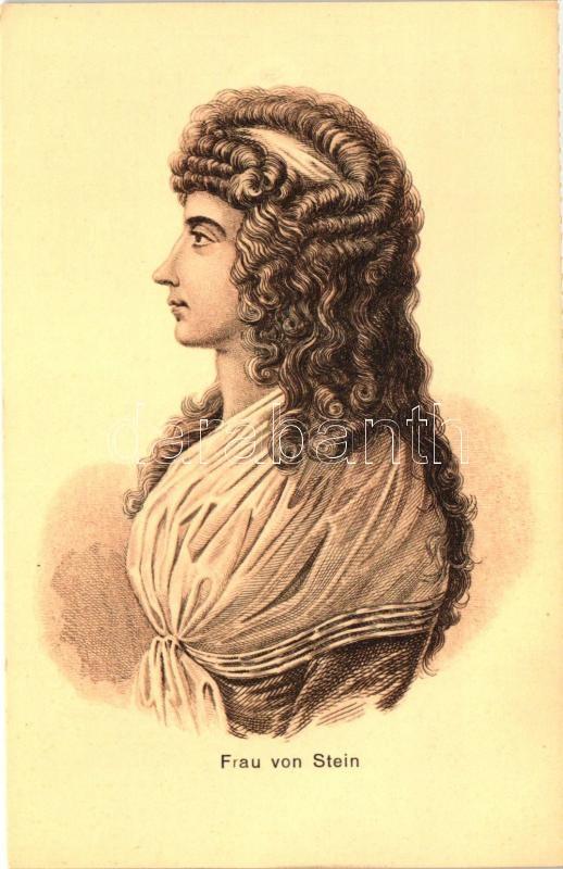 Frau von Stein / Charlotte von Stein