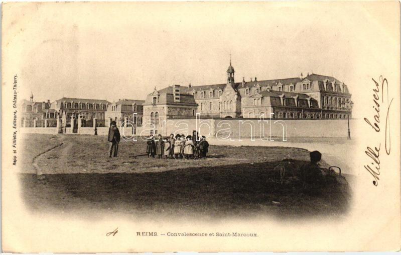 Reims, Convalescence, Saint Marcoux /