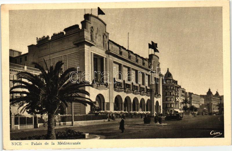 Nice, Palais de la Mediterranee / palace