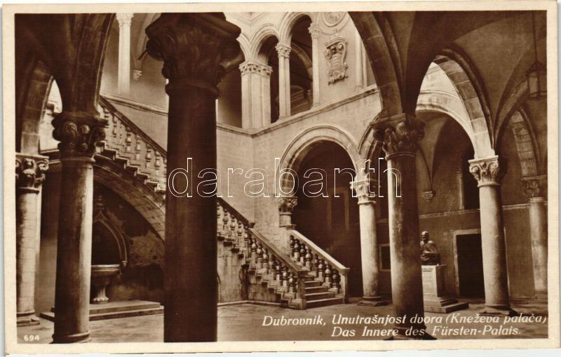 Dubrovnik, Ragusa; Royal Palace, interior