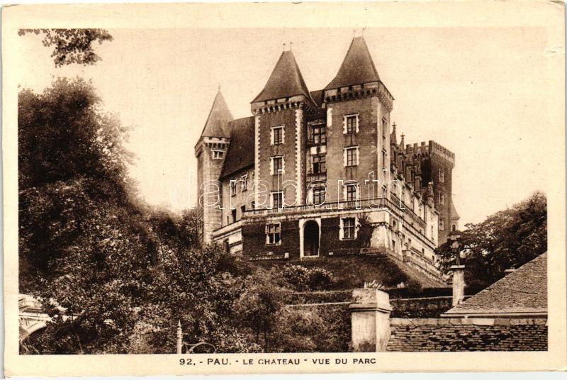 Pau, Chateau, Parc / castle park