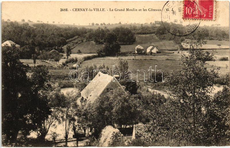 Cernay-la-Ville, Grand Moulin, Coteaux / mill