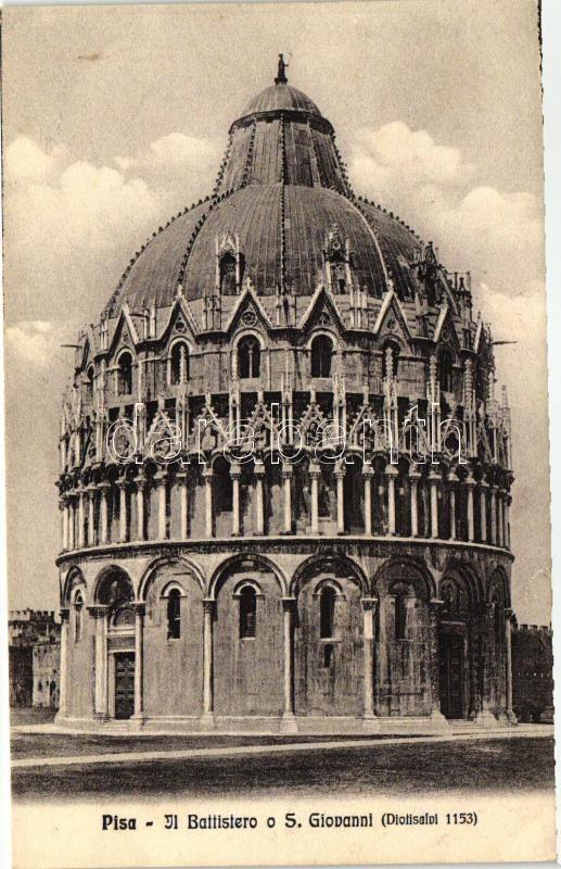 Pisa, Il Battistero o S. Giovanni / baptistery