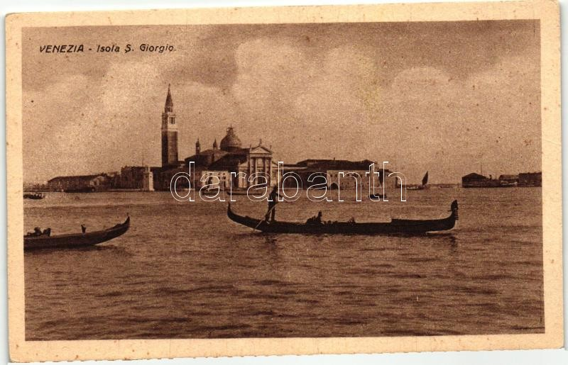 Venice, Venezia; Isola S. Giorgio / island