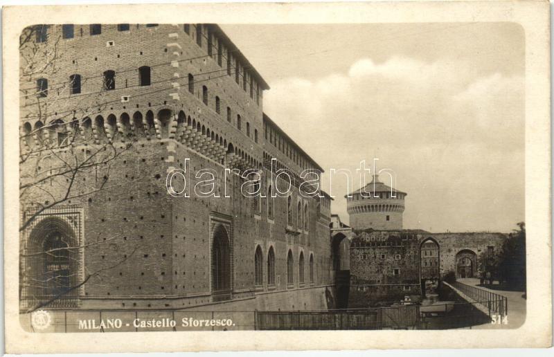 Milano, Milan; Castello Sforzesco / castle