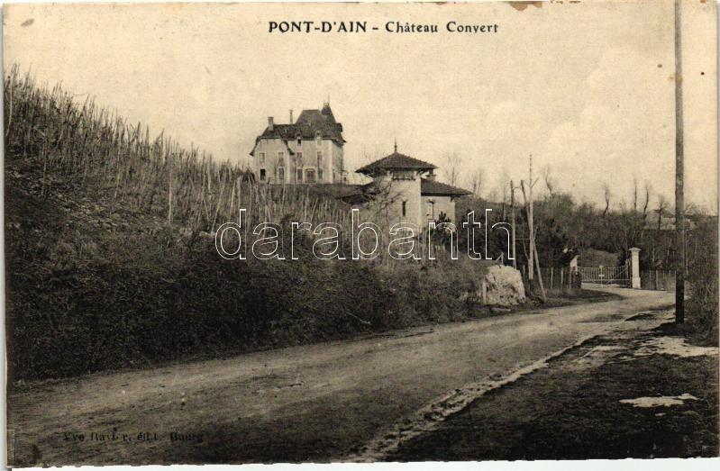 Pont-d'Ain, Chateau Convert / castle