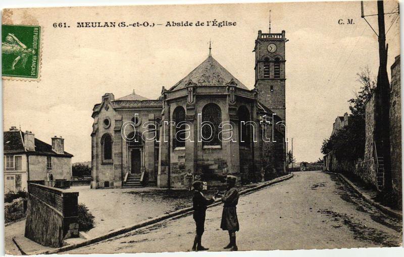 Meulan, Abside de l'Eglise