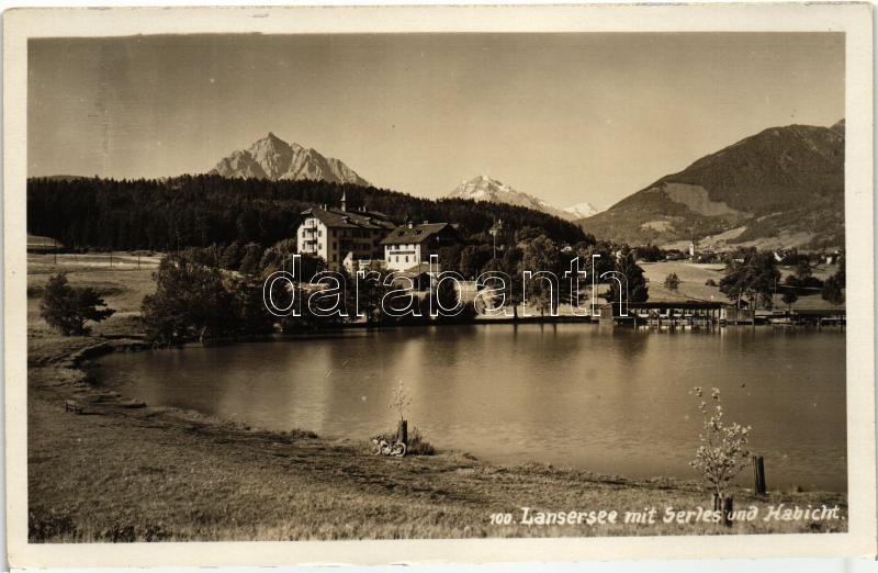 Lansersee, Serles, Habicht