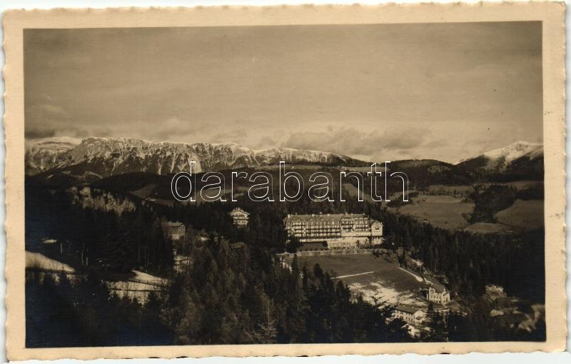 Semmering, Kurhaus, Schneeberg, Rax