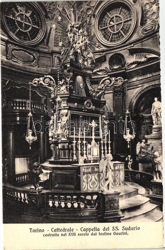 Torino, Turin; Cattedrale, Cappella del SS Sudarico / cathedral, chapel, interior