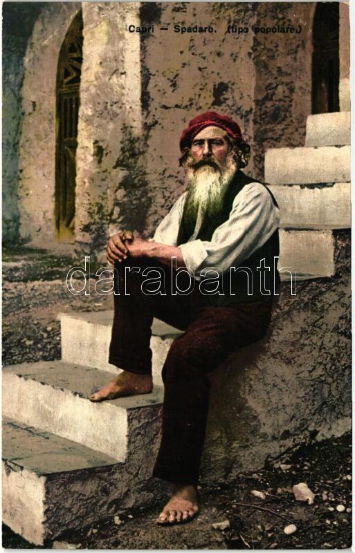 Capri, Spadaro / Italian folklore, Olasz folklór Capri-ról, spadaro