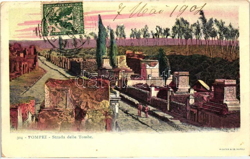 Pompei, Strada delle Tombe / road to the tomb