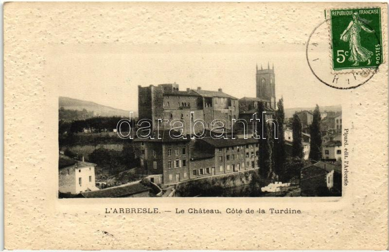 L'Arbresle, Chateau, Cote de la Turdine / castle
