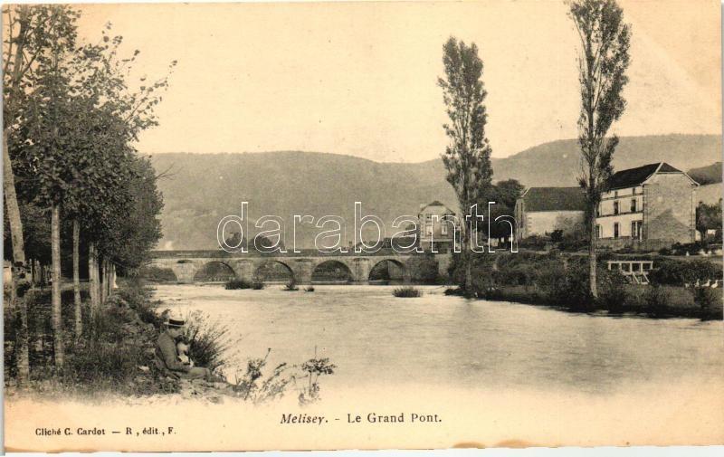 Mélisey, Le Grand Pont / bridge