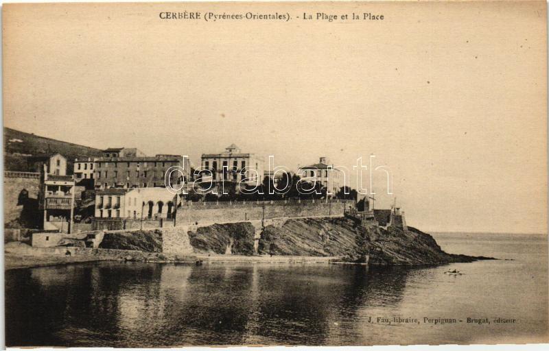 Cerbere, Plage, port