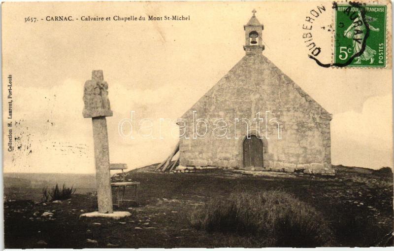 Carnac, Calvary, Mont St-Michel chapel