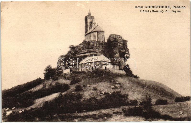 """Dabo, Hotel Cristophe Pension """"Au Rocher"""" (non PC)"""