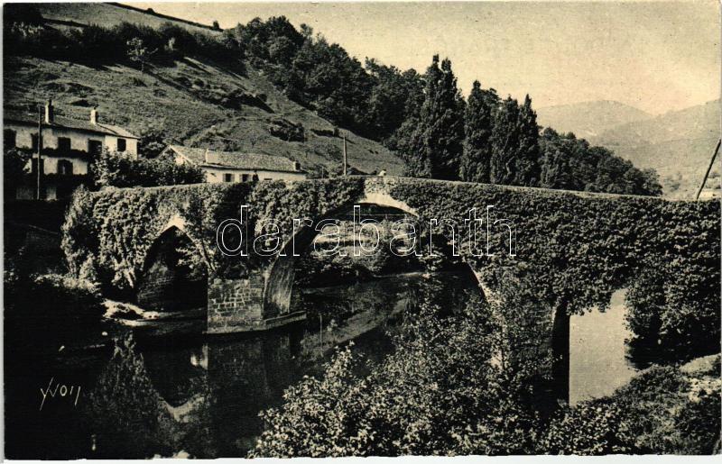 Bidarray, Vieux Pont sur la Nive / old bridge
