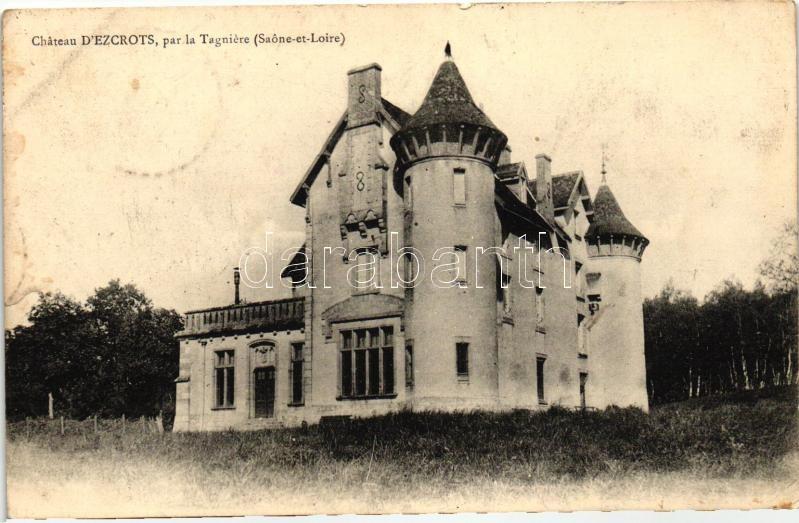La Tagniere, Chateau d'Ezcrots / castle