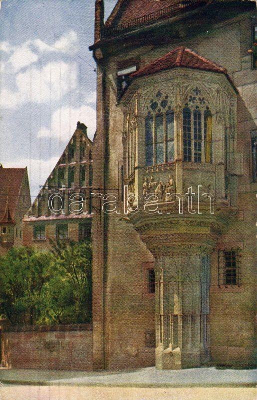 Nürnberg parsonage with Oriel window, Nürnberg parókia kis erkéllyel