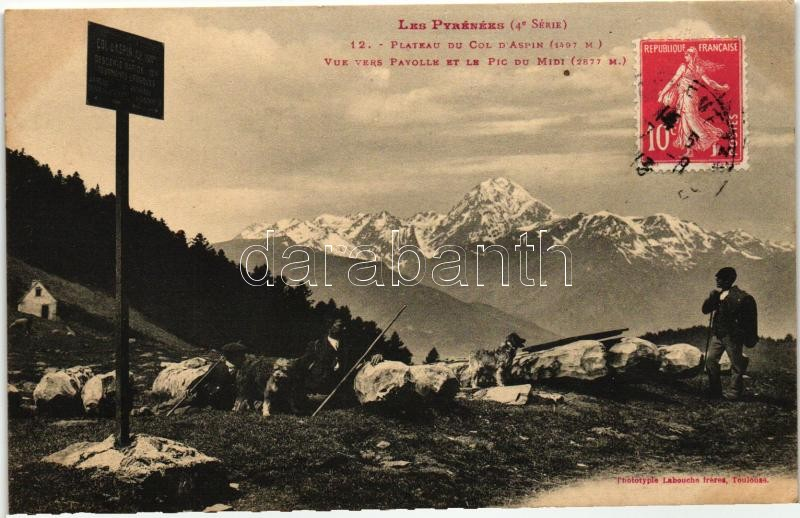 Plateau du Col d'Aspin, Payolle, Pic du Midi