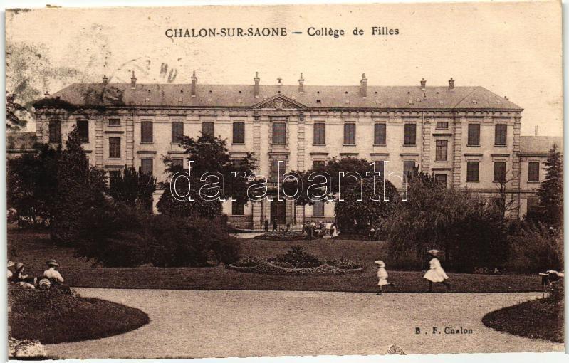 Chalon-sur-Saone, College de Filles / girl school